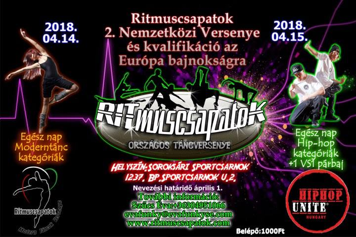 Rhythm Teams International Dance Competition 2nd Semi Final And Qualify To The European Championship